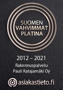 Suomen vahvimmat platina 2012 - 2021